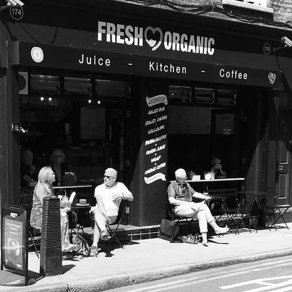 Fresh and Organic cafe